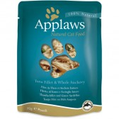Applaws gato bolsa de atum e anchovas