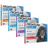 Frontline Spot On Perros 3 Pipetas