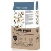Pienso para perros Natura Diet Grain Free Salmón & Coco