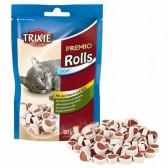 Premio rolls com frango e pescada Trixie