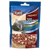 Snack prêmio atum sanduiches Trixie