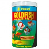 Tropical goldfish color pellet