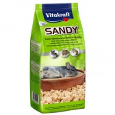 Vitakraft sandy  areia chinchilla