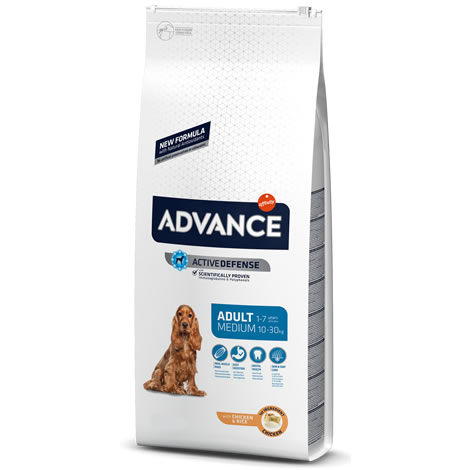 Pienso para perros Advance Medium Adult